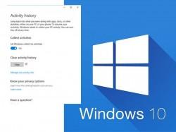 શું તમે જાણો છો કે Windows 10 માં તમારી પીસીની પ્રવૃત્તિને કેવી રીતે ટ્રેક કરવી