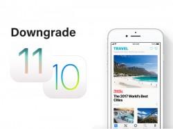 તમારા એપલ ડિવાઇસ પર iOS 11 થી iOS 10 પર ડાઉનગ્રેડ કેવી રીતે કરવું
