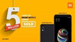 ઝિયામી ઇન્ડિયાએ માત્ર 4 મહિનામાં 5 મિલિયન રેડમી નોટ 5 સ્માર્ટફોન વેચ્યાં
