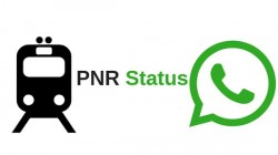 WhatsApp નો ઉપયોગ કરીને પી.એન.આર.ની સ્થિતિ કેવી રીતે તપાસવી