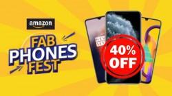 એમેઝોન ફેબ ફોન ફેસ્ટ વનપ્લસ એપલ સેમસંગ વગેરે સ્માર્ટફોન પર 40% સુધી ડિસ્કાઉંટ
