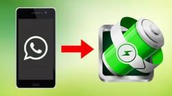 એન્ડ્રોઈડ પર વોટ્સએપ ની અંદર ડાર્ક મોડ ચાલુ કરવા માટે બેટરી સેવર સેટિંગ્સ આપવામાં આવશે