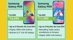 સેમસંગ સ્માર્ટફોન ખરીદવા માટે અમેઝોન પર બેસ્ટ ઓફર્સ